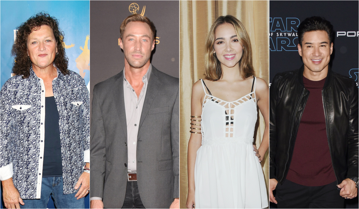 Dot-Marie Jones, Kyle Lowder, Haley Pullos and Mario Lopez in new projects