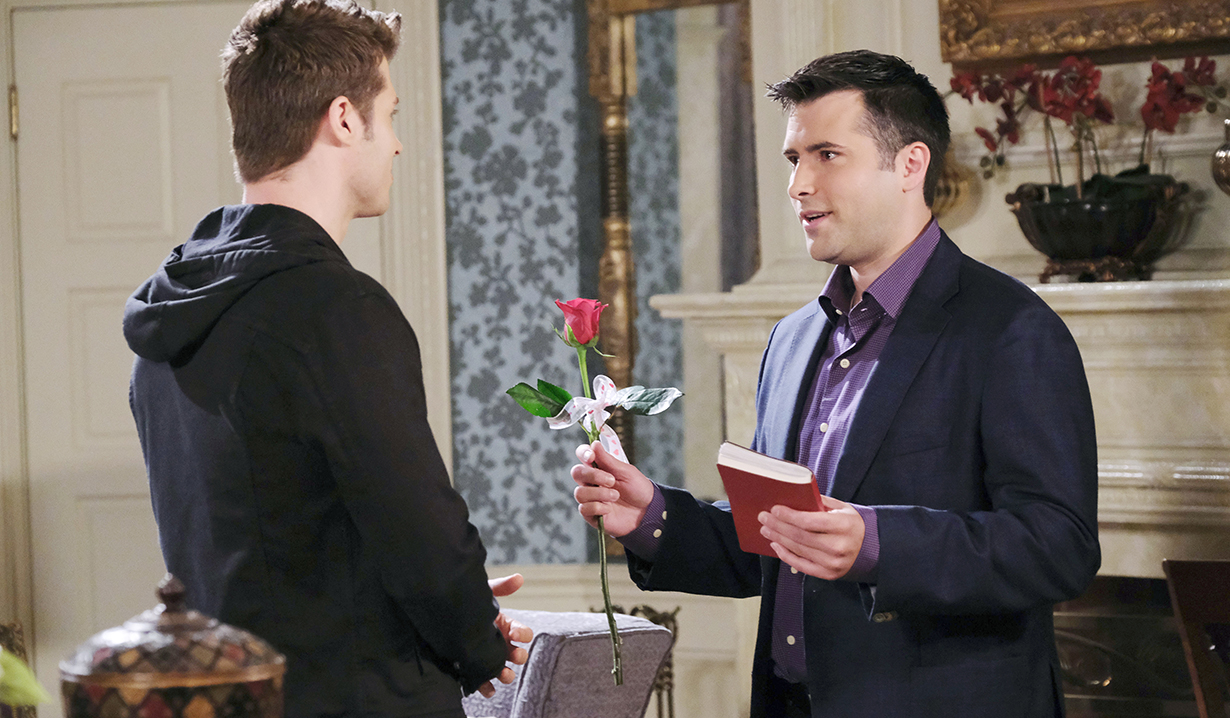 sonny flashes back to Valentines on days of our lives