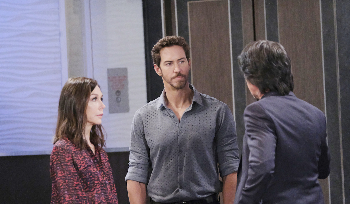 Finn confronts Anna and Peter on General Hospital