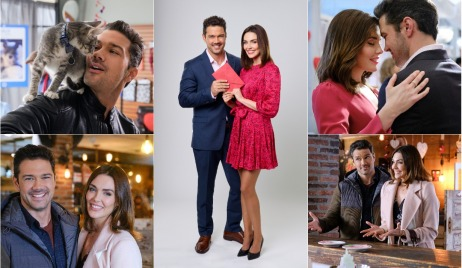 general hospital alum ryan paevey taylor cole in hallmark matching hearts