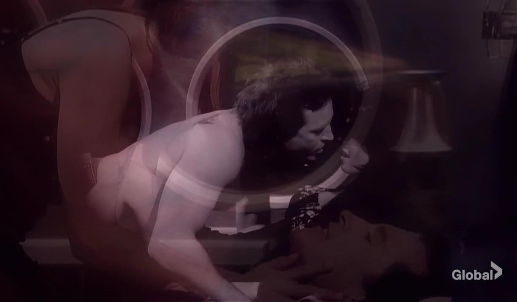 gina and john sex in submarine days of our lives