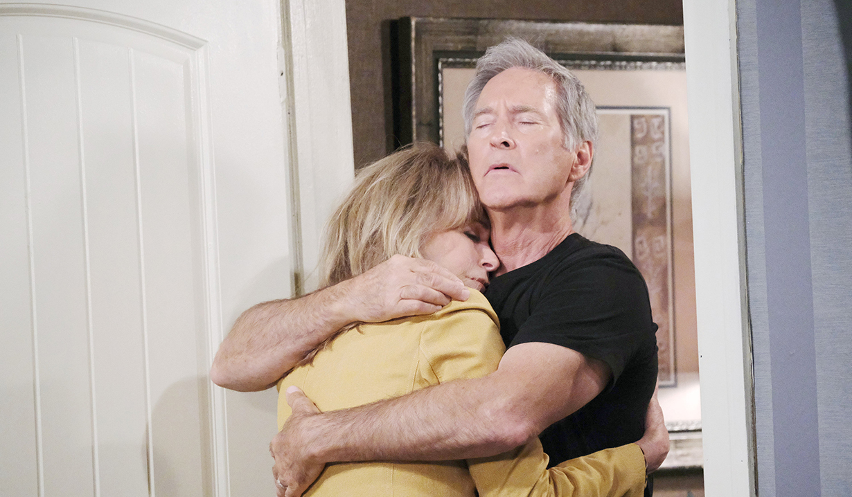 John hugs Marlena Days of our Lives