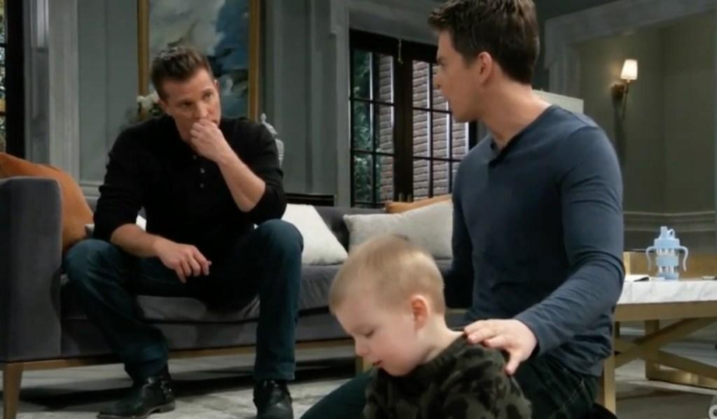 Jason advises Michael regarding Nelle on General Hospital