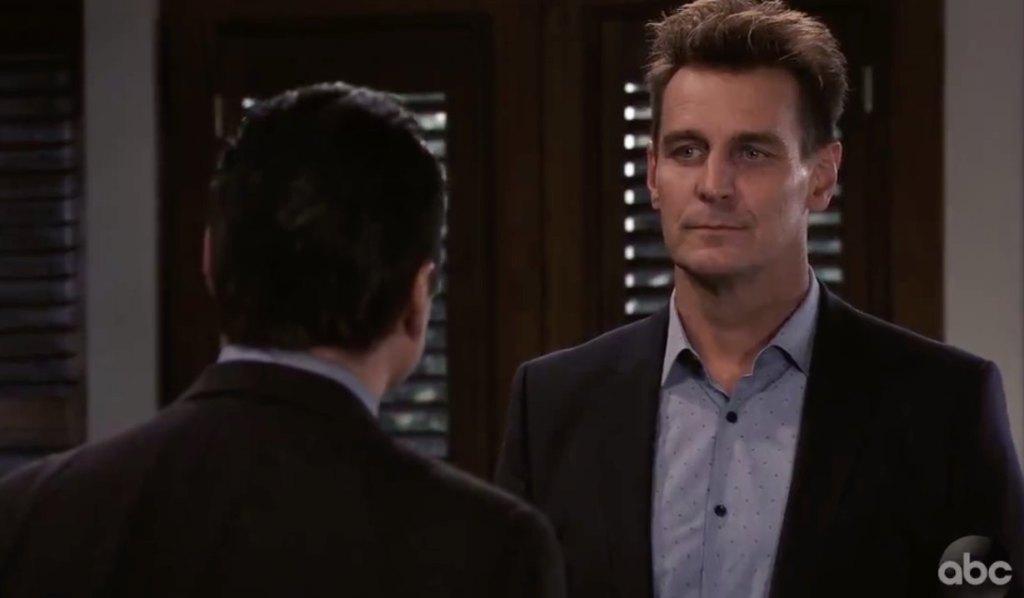 Jax confronts Sonny on General Hospital
