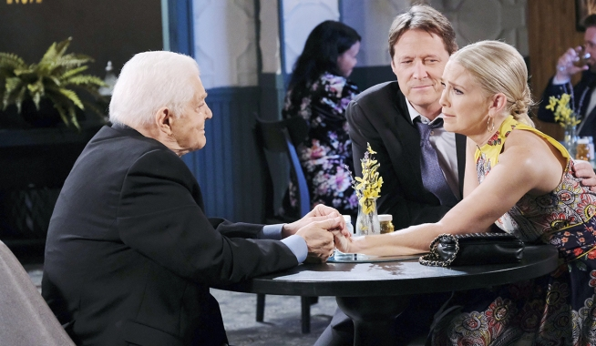 jenn learns bill died days of our lives
