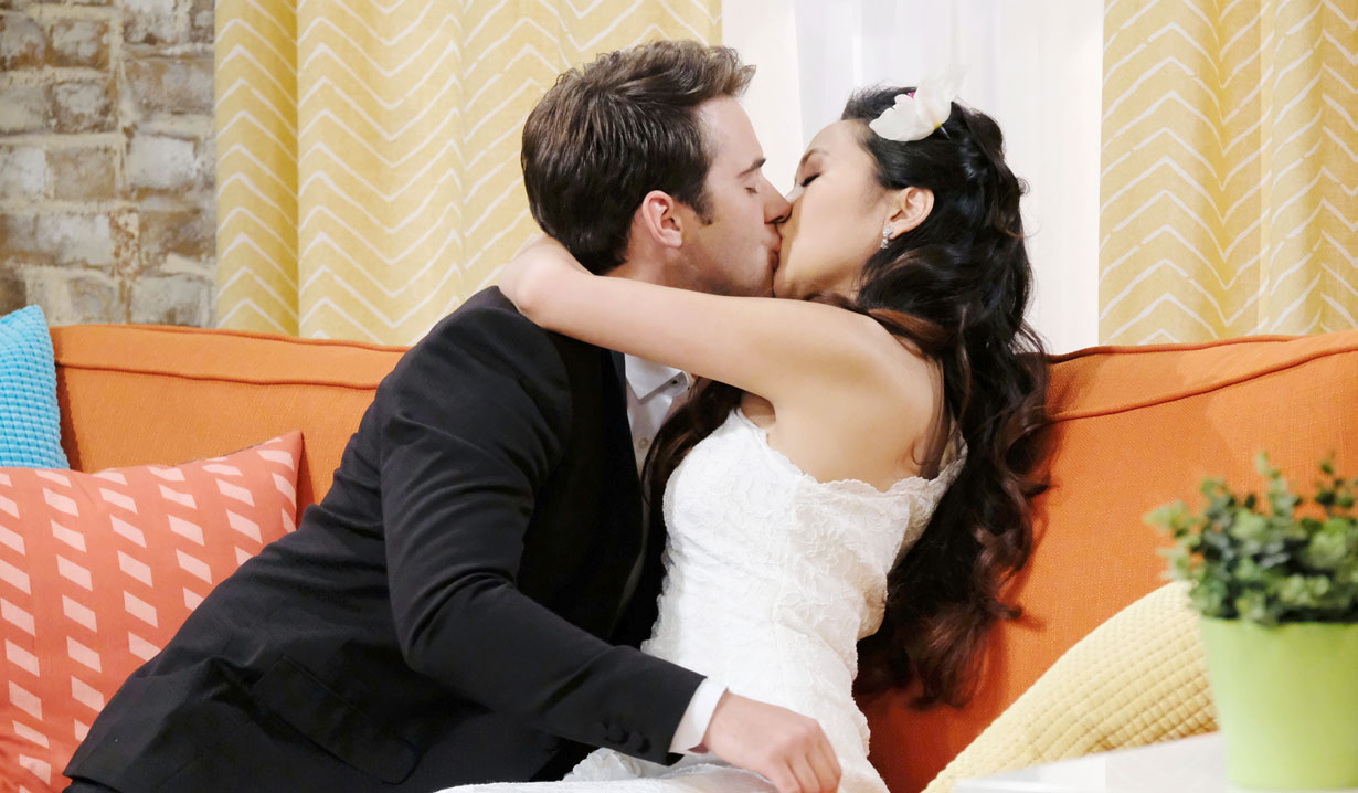 jj and haley kiss days of our lives