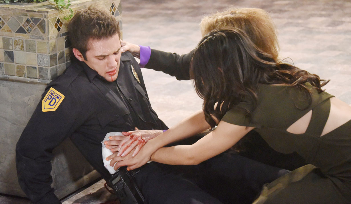 maggie and gabi help jj shot days of our lives