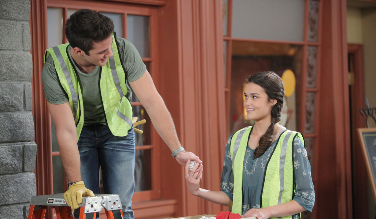 jj and paige do community service days of our lives