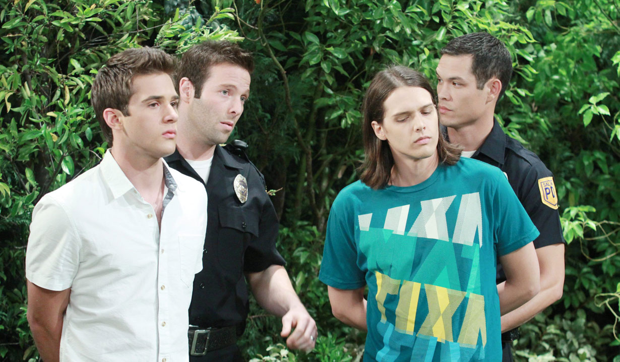 jj and rory arrested for drugs days of our lives