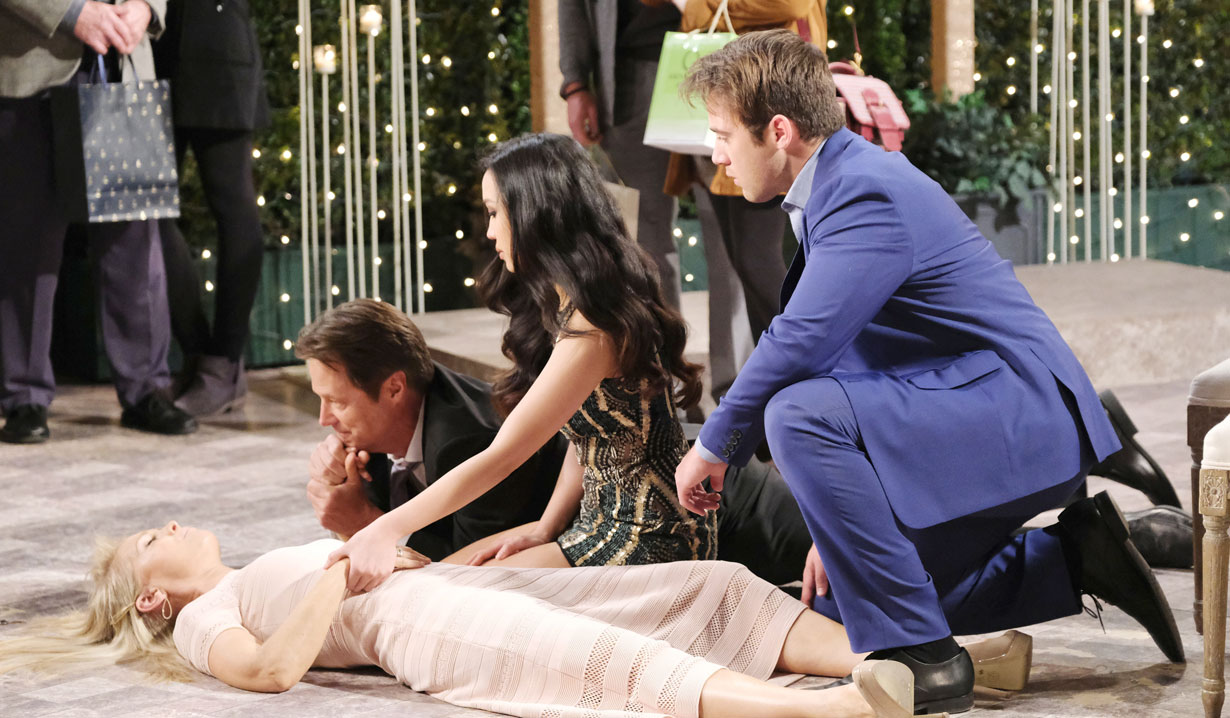 jj sees jenn fall off balcony days of our lives