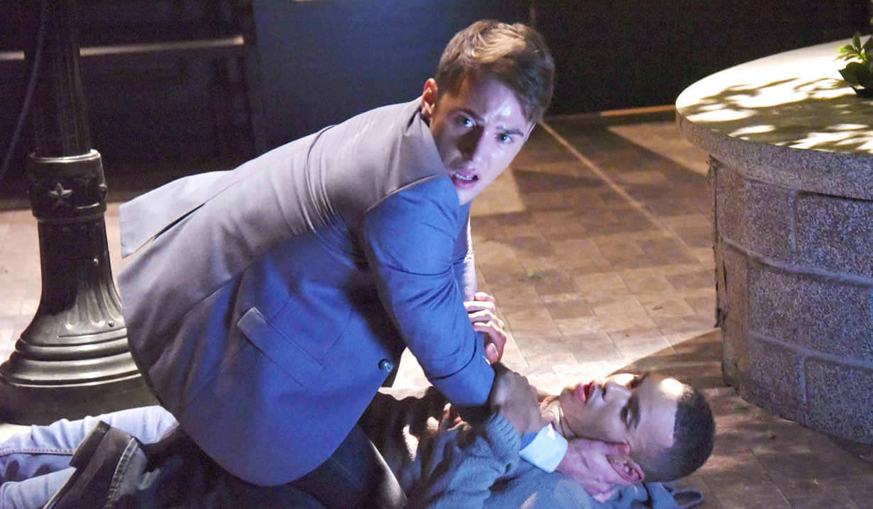 jj accidentally shoots theo days of our lives