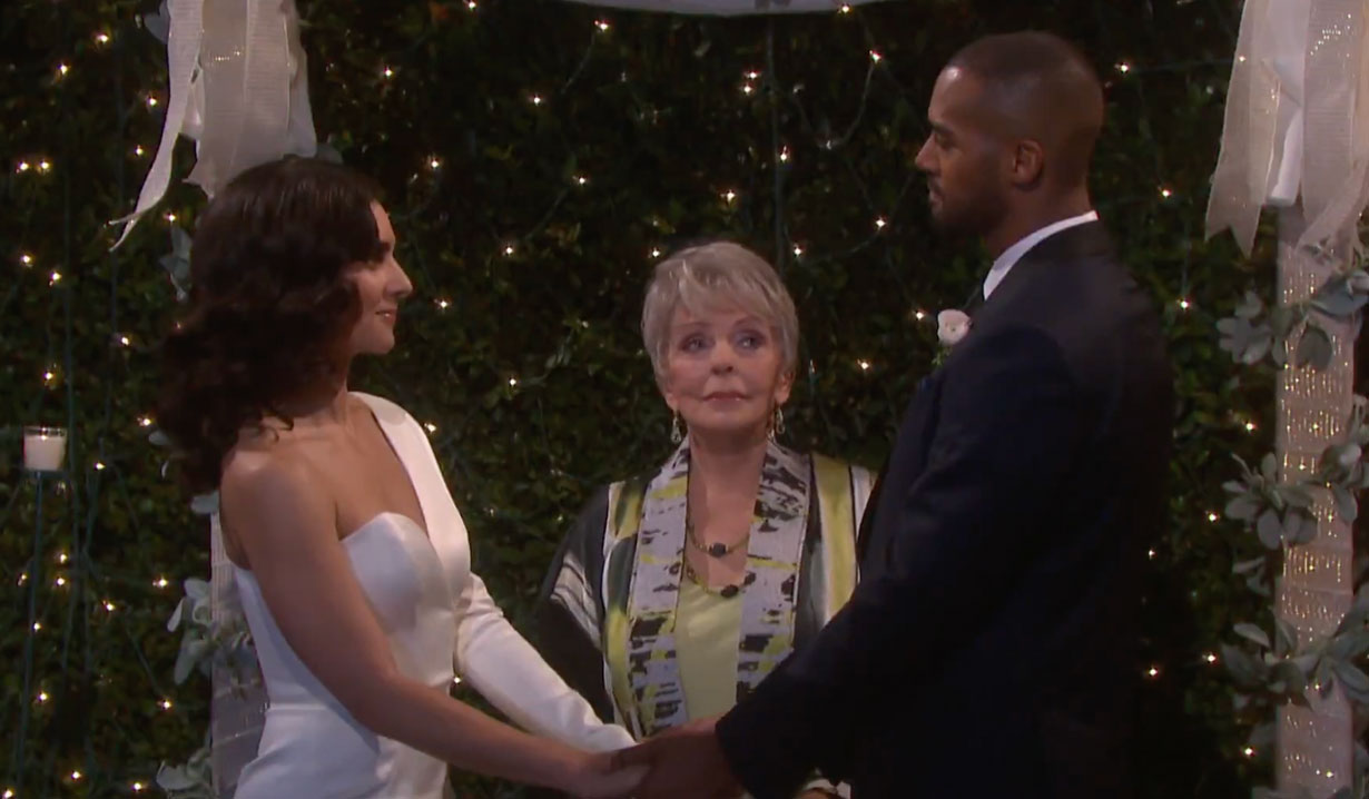 Julie marries Eli and Gabi on Days of our Lives