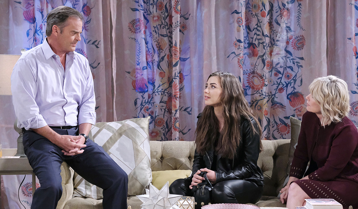 ciara opens up to kayla and justin days of our lives