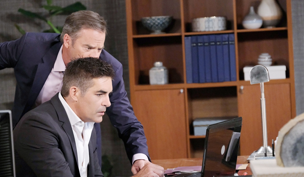 rafe and justin search for kayla days of our lives
