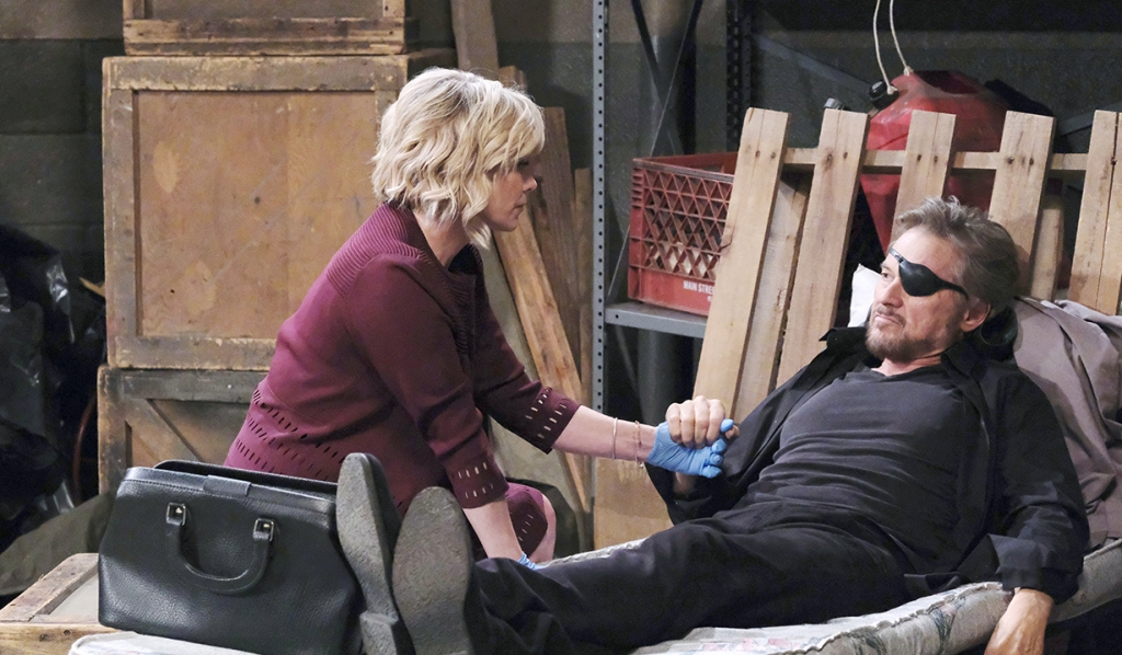 "kayla cares for ""Steve"" days of our lives"