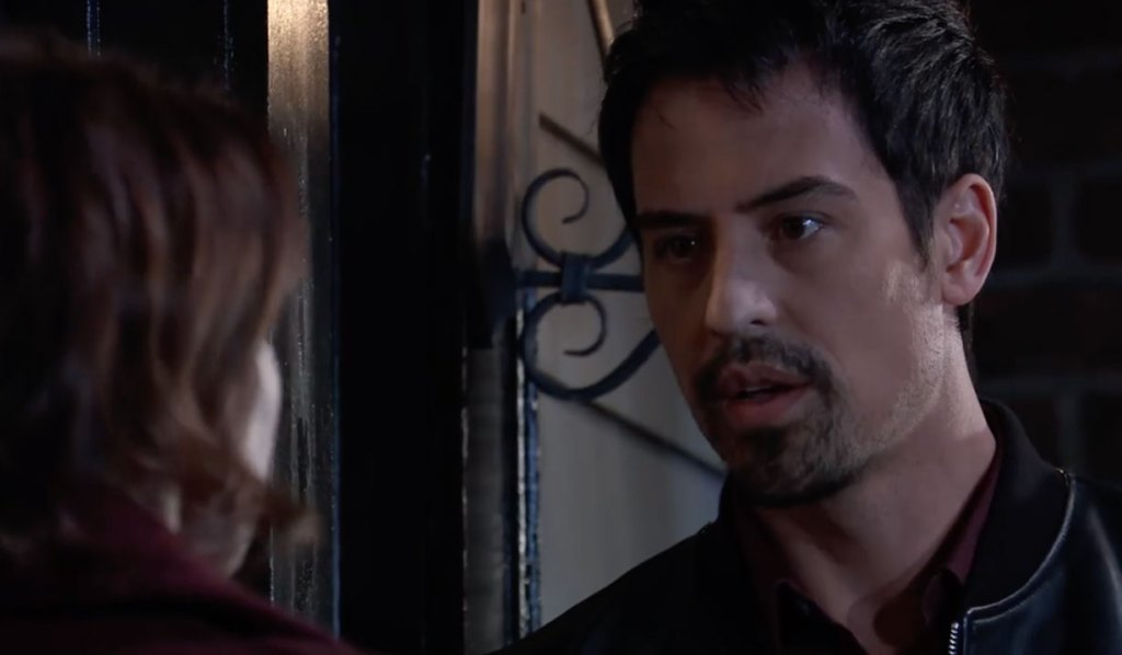 Liz tells Nikolas to deal with the consequences on General hospital