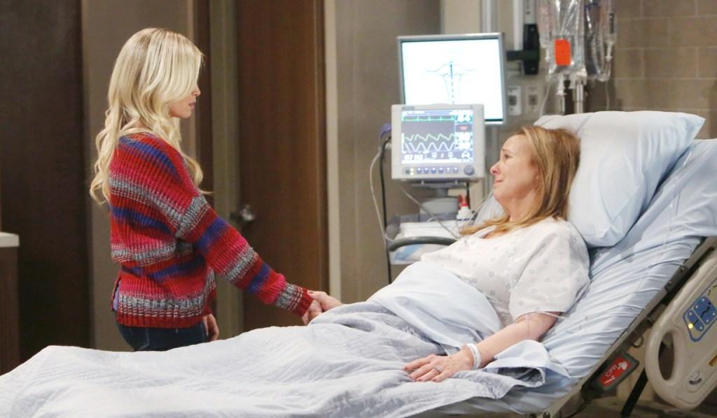 Lulu and Luara talk men at General Hospital