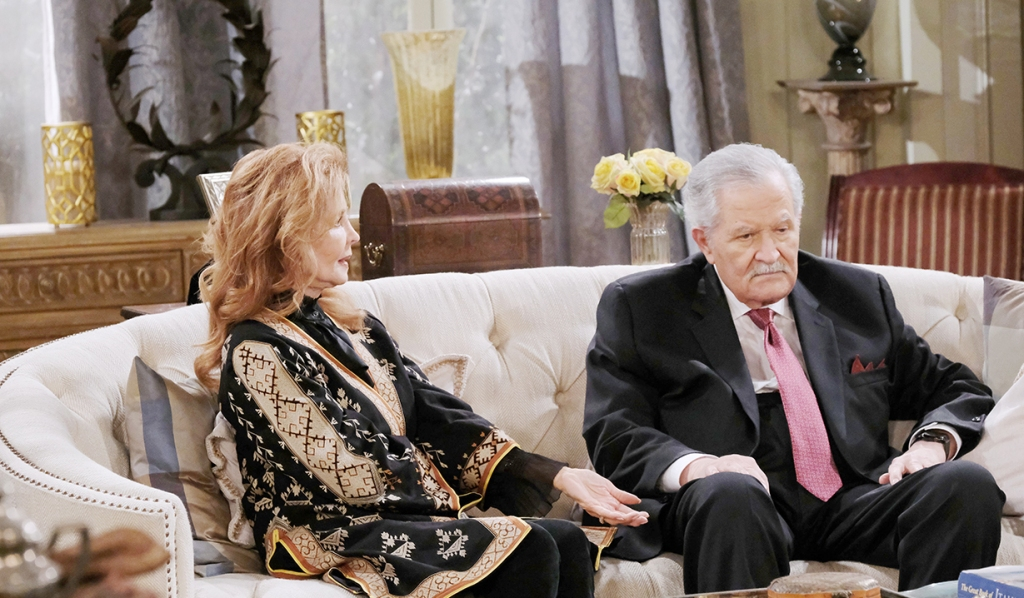 maggie with crabby victor days of our lives