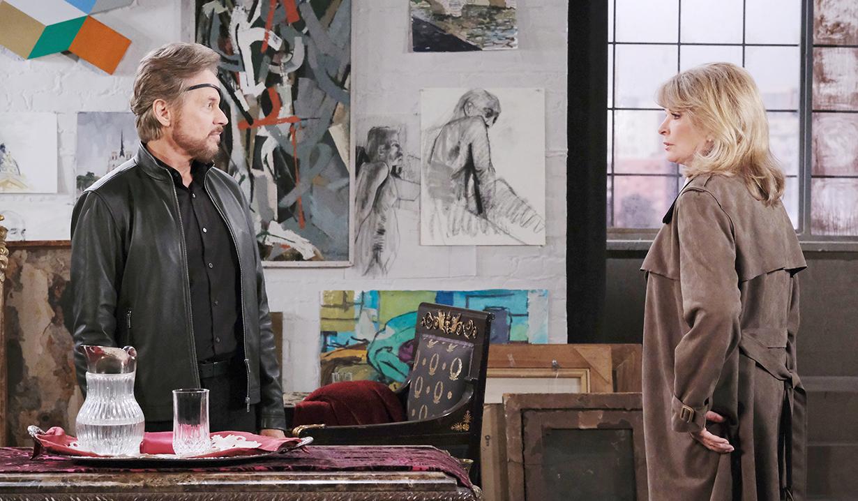 Stevano and Marlena at Gina's loft