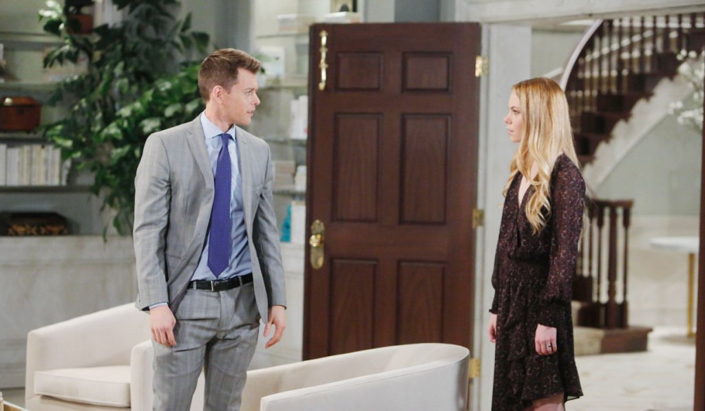 Michael and Nelle face off on General Hospital