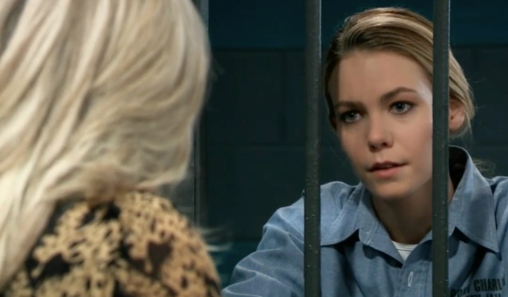 Carly warns Nelle on General Hospital