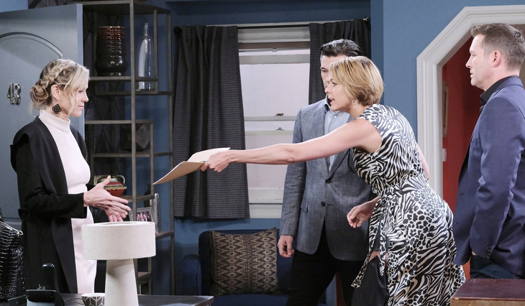 kristen gets documents nic days of our lives