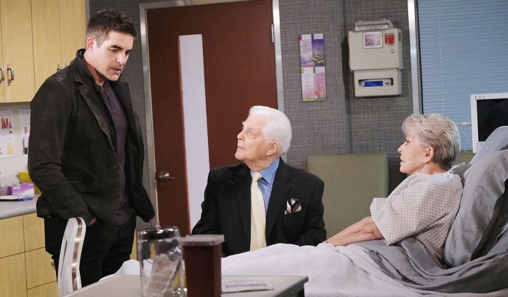 Rafe tells Julie, Doug that Gina is back days of our lives