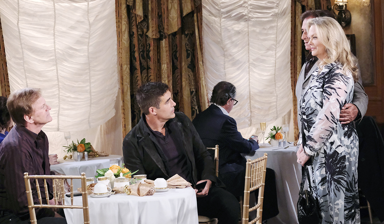 roman and rafe in prague with anna and tony days of our lives