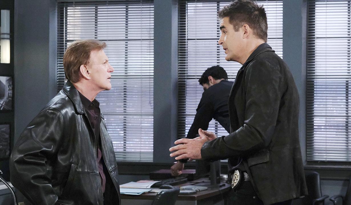Roman and Rafe talk Gina kidnapping Marlena