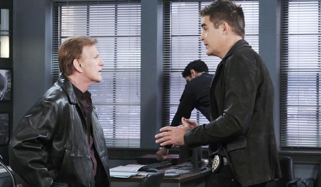 roman and rafe spd talk marlena kidnapping days of our lives