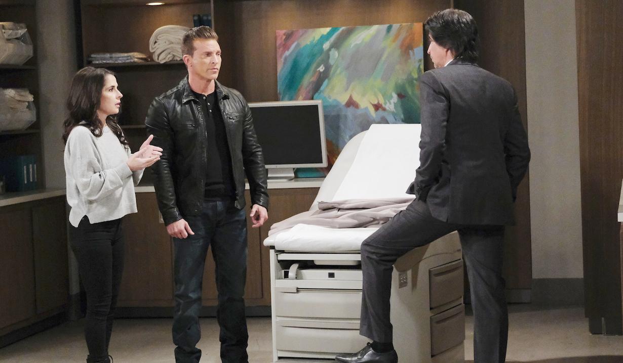 Finn meets with Sam and Jason