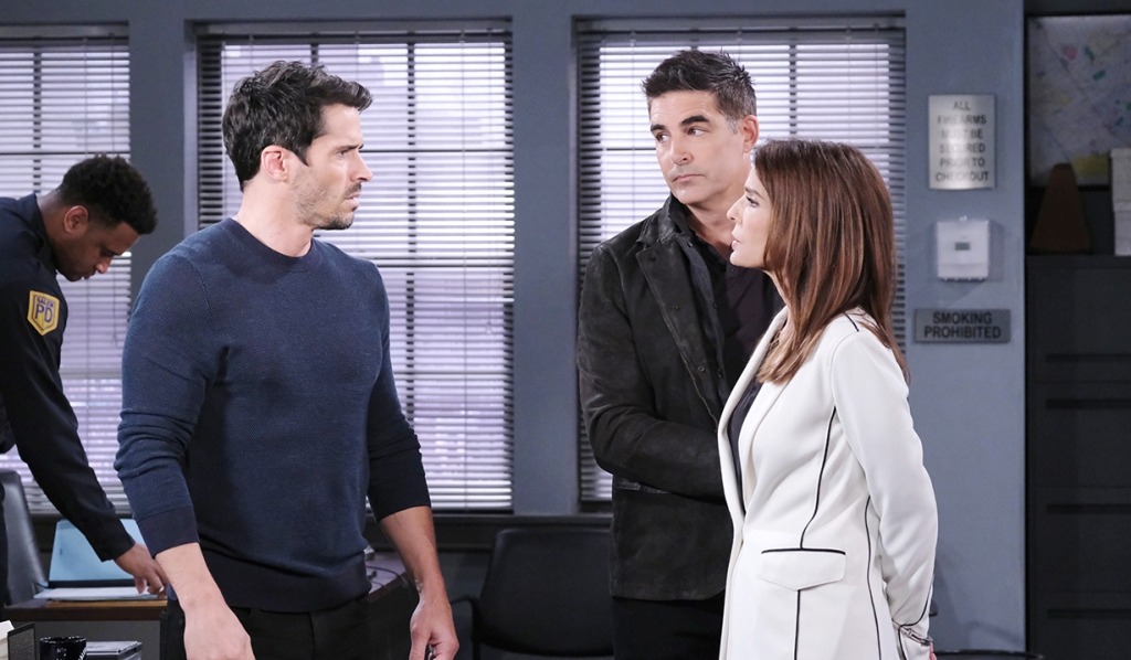 shawn, rafe arrest gina days of our lives