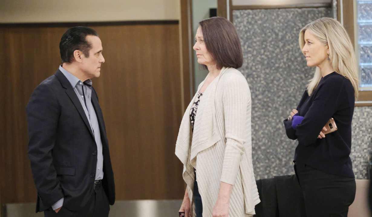 Sonny and Carly confront Gladys on General Hospital