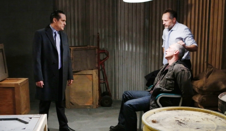 Sonny questions assailant on General Hospital