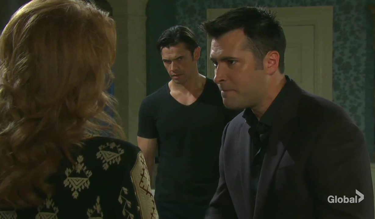 sonny rips maggie new one days of our lives