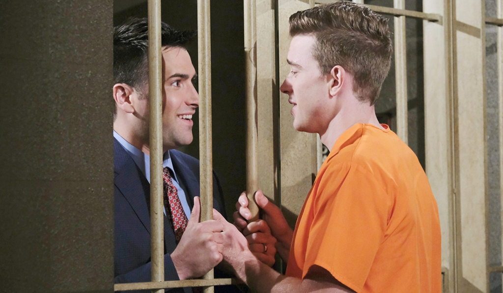 will and sonny reunite jail days of our lives