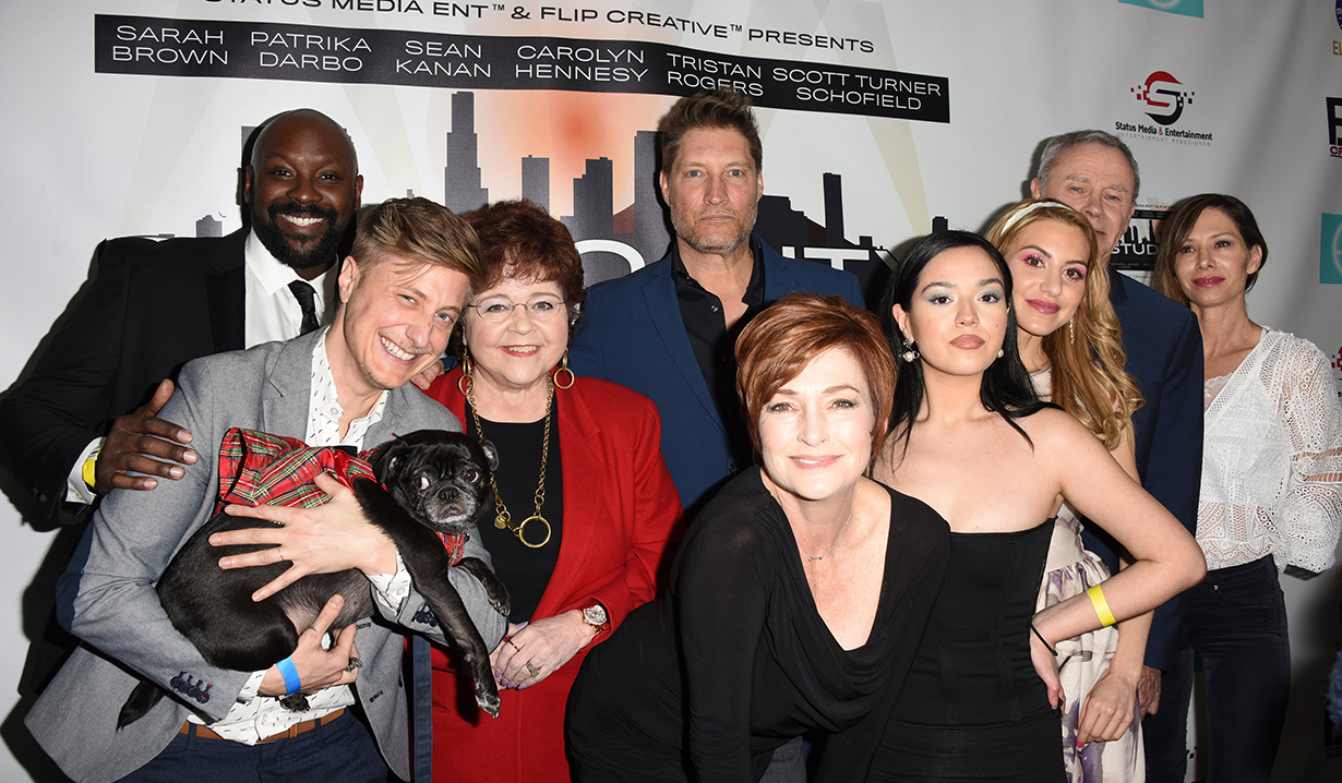 Patrika Darbo, Carolyn Hennesy, Tristan Rogers, Sarah Brown, Sean Kanan, Studio City Cast attends the Screening of Amazons STUDIO CITY to Benefit Elks Lodge Charities and FYC Independents at the Van Nuys / Reseda Elks Lodge