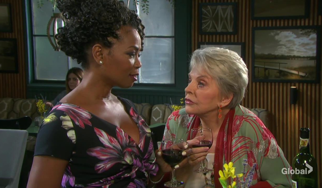 val and julie drink days of our lives