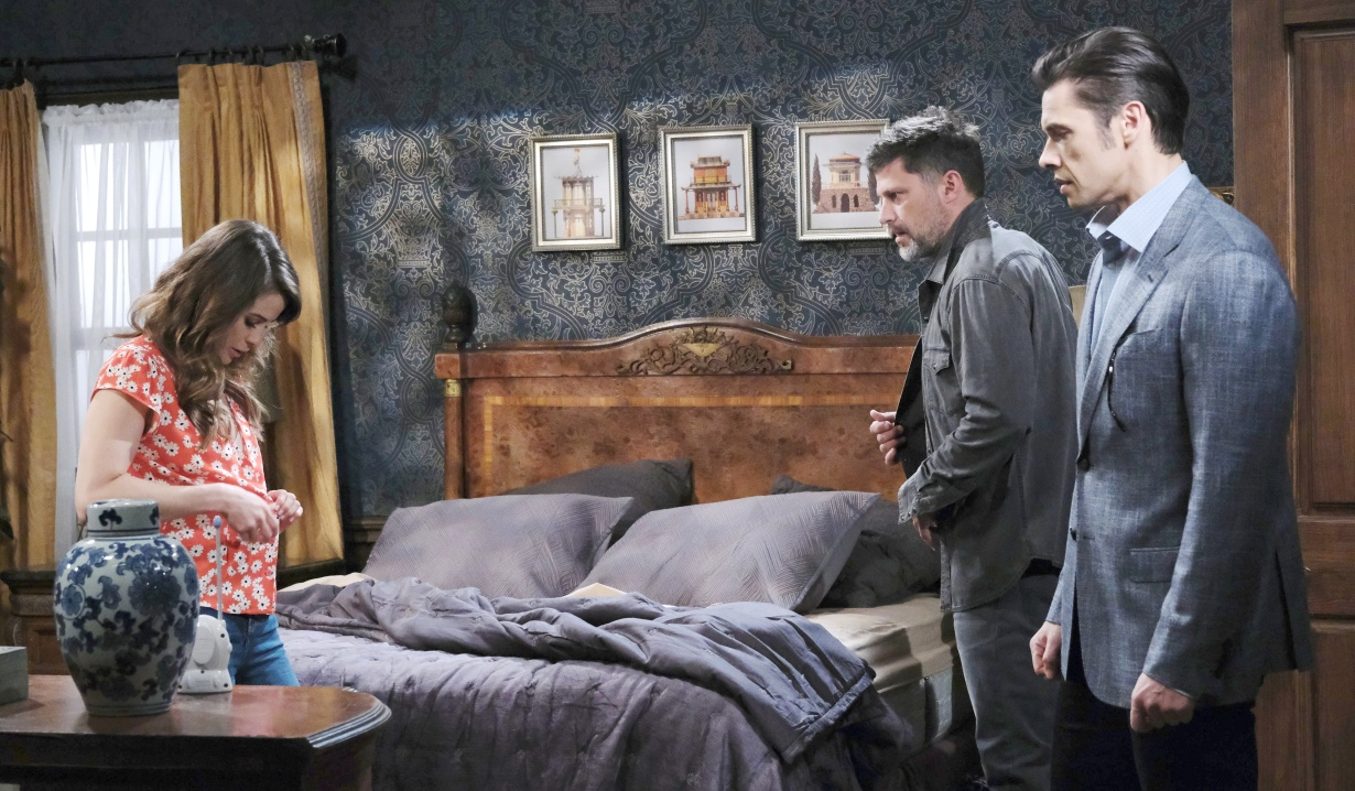 xander catches sarah and eric in bed days of our lives