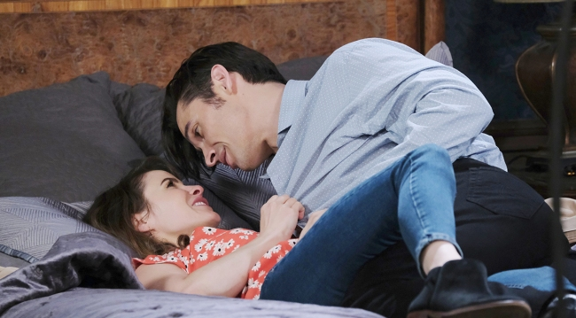 sarah and xander in love days of our lives