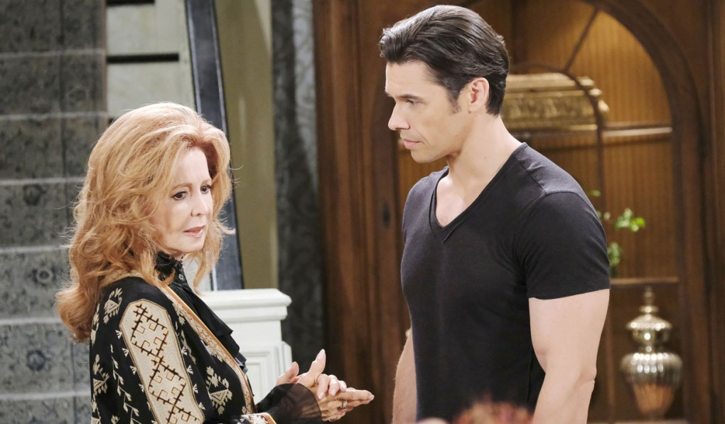 xander talks to maggie who's having unsettled memories days of our lives