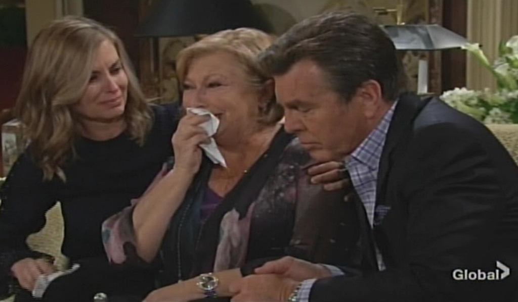 Ashley, Traci, Jack cry Young and Restless