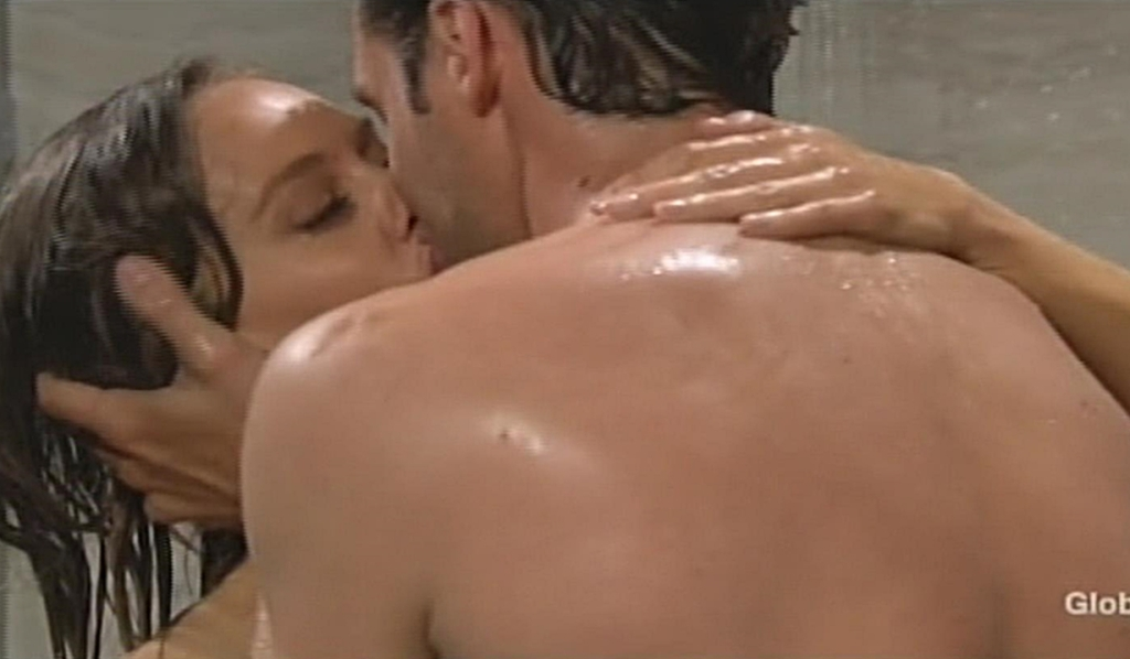 Abby, Chance shower Young and Restless