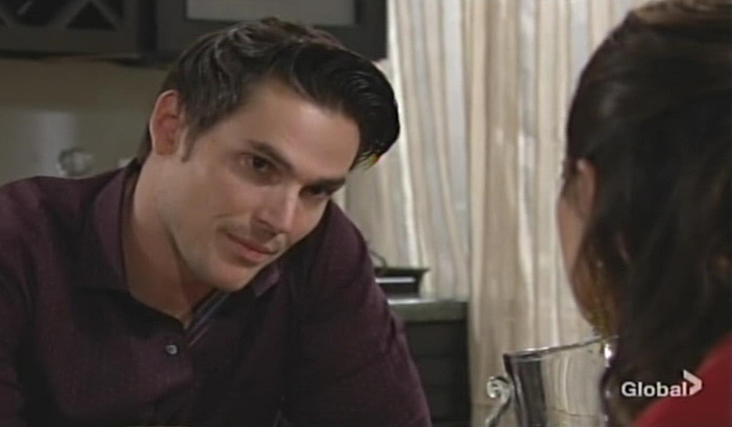 Adam, Chelsea talk conscience Young and Restless