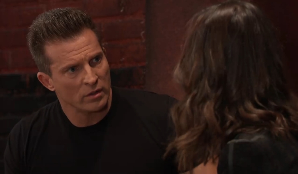 Anna tries to convince Jason at gym General Hospital