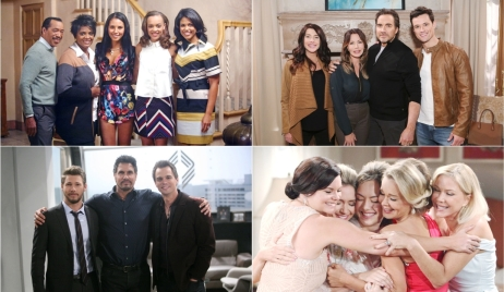 Avants, Forresters, Logan, and Spencer families Bold and Beautiful