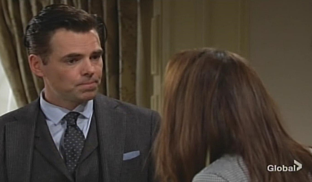 Billy, Lily bicker Young and Restless