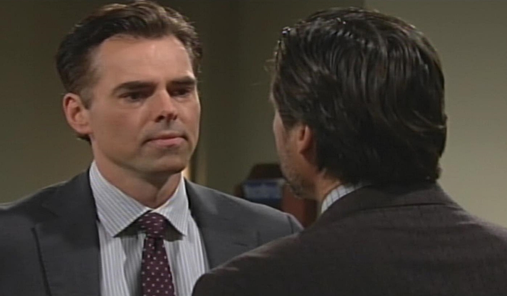 Billy, Nick square off hospital Young and Restless