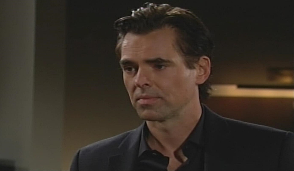 Billy checks in Young and Restless