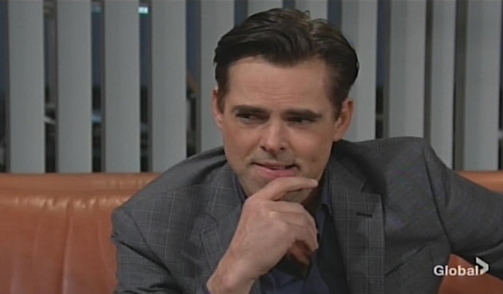 Billy contemplates idea Young and Restless